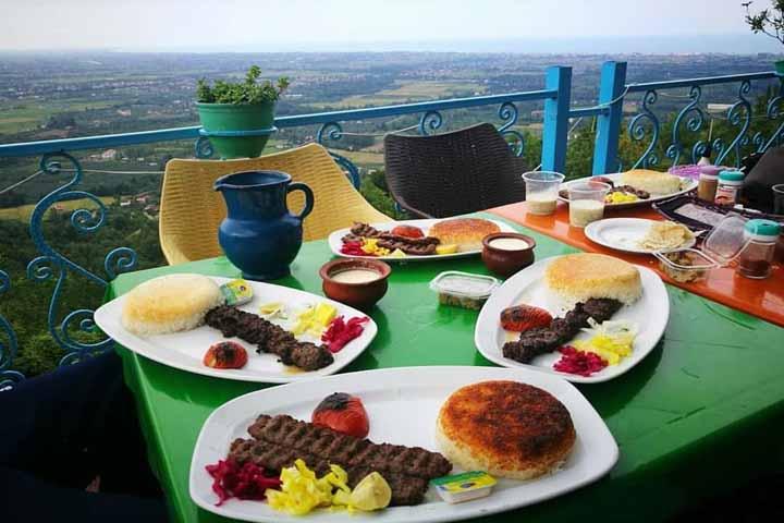 رستوران دربند لطفی چابکسر | رستوران های گیلان