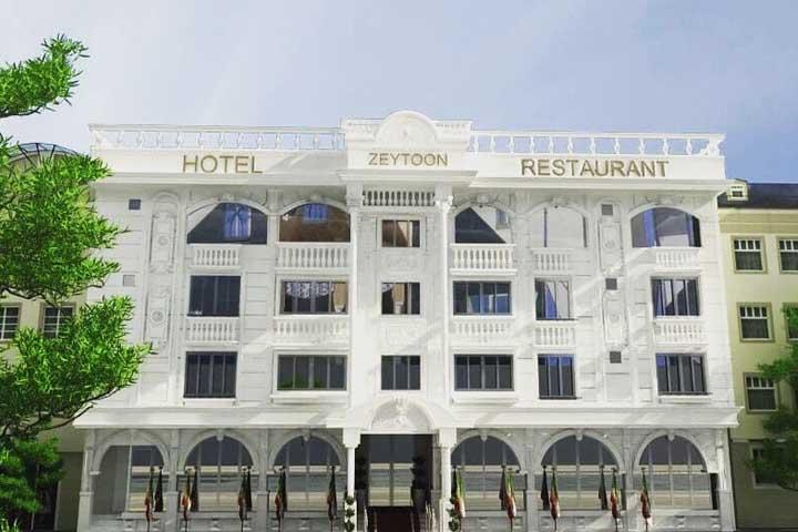 رستوران زیتون رودبار | رستوران های گیلان