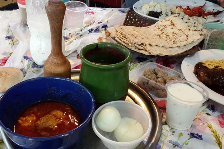 رستوران سنتی بامداد | رستوران های گیلان