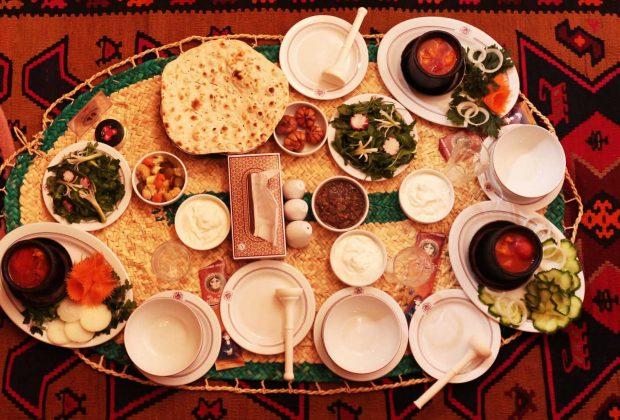 غذاهای لاهیجان شاخص
