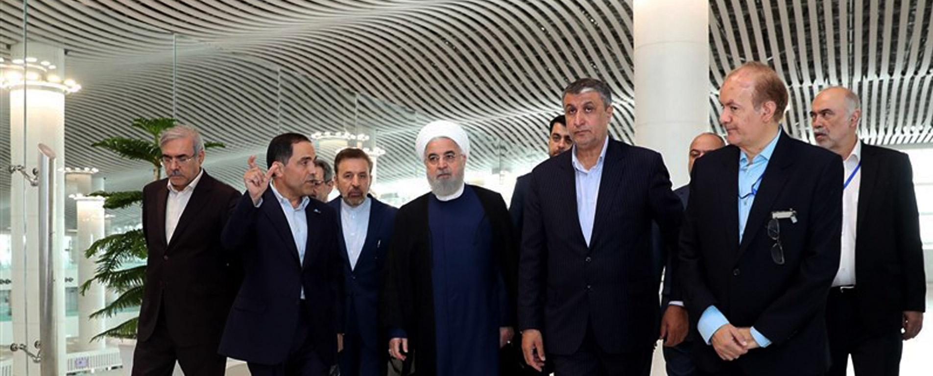 رییس جمهوری « ترمینال سلام » فرودگاه امام خمینی (ره) را افتتاح کرد