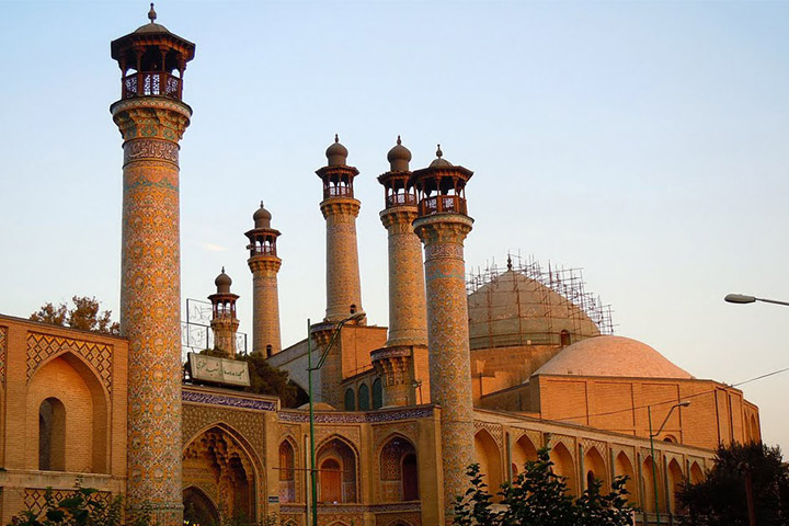 مسجد و مدرسه سپهسالار | نقاط دیدنی تهران