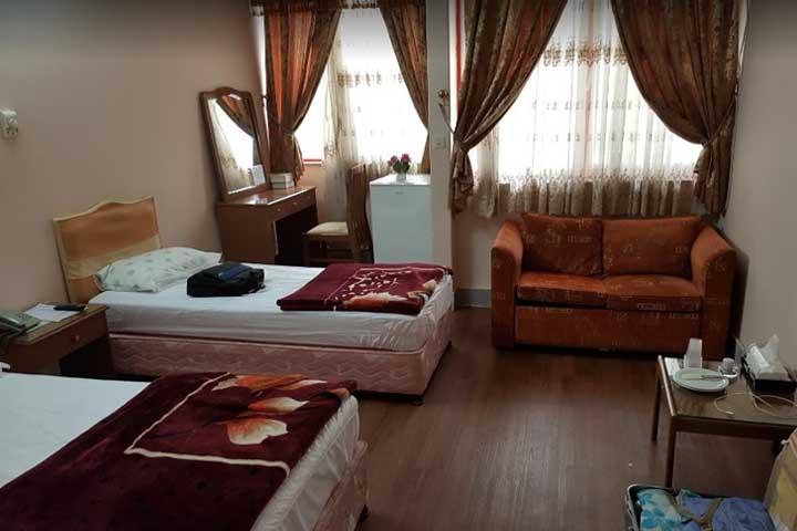 هتل فرهنگیان | هتل های زنجان