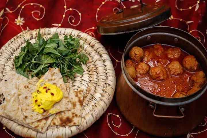 پیازو |غذاهای زنجان