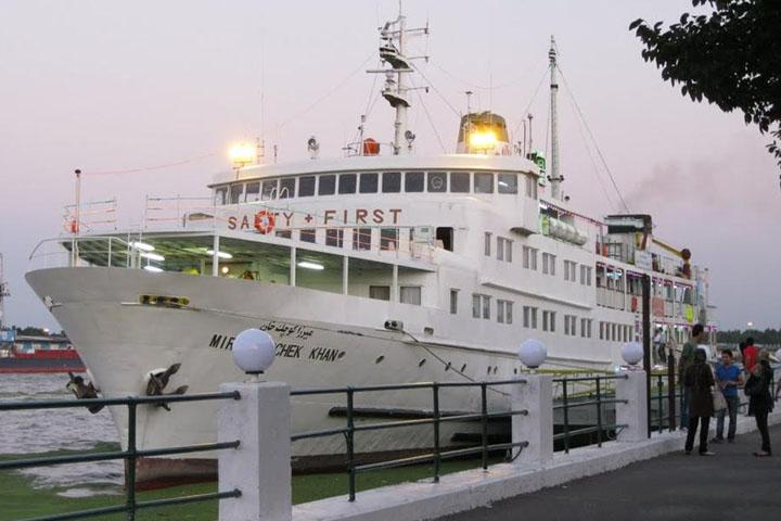 کشتی مسافری تفریحی میرزاکوچک خان | مراکز تفریحی گیلان