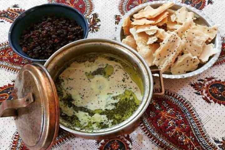 کله جوش | غذاهای زنجان