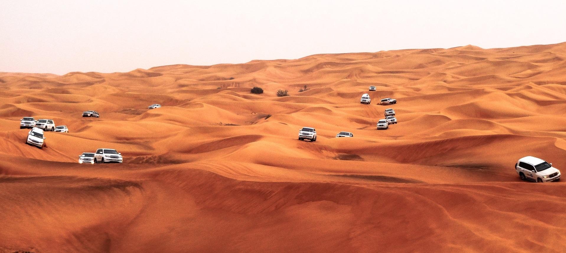 سافاری دبی ، هیجان خوشگذرانی به سبک صحرانشینها