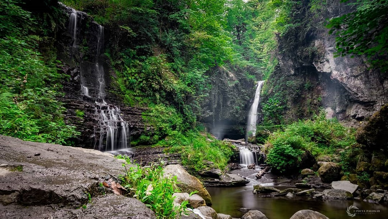 آبشار زمرد ، جواهری در قلب طبیعت بکر و دیدنی استان گیلان