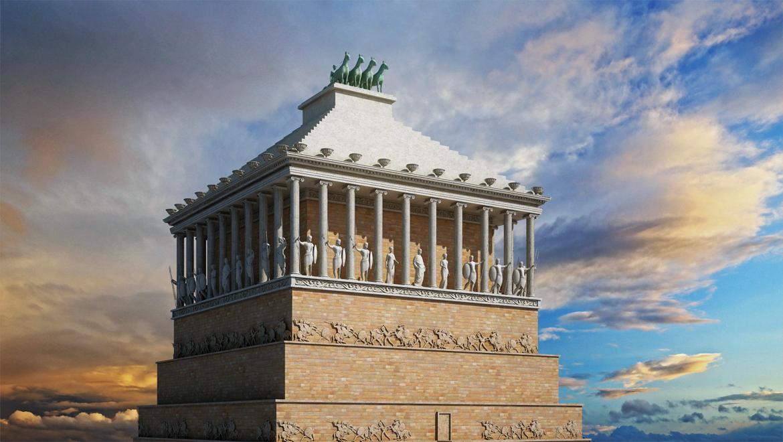 آرامگاه هالیکارناسوس ؛ از عجایب هفتگانه باستانی