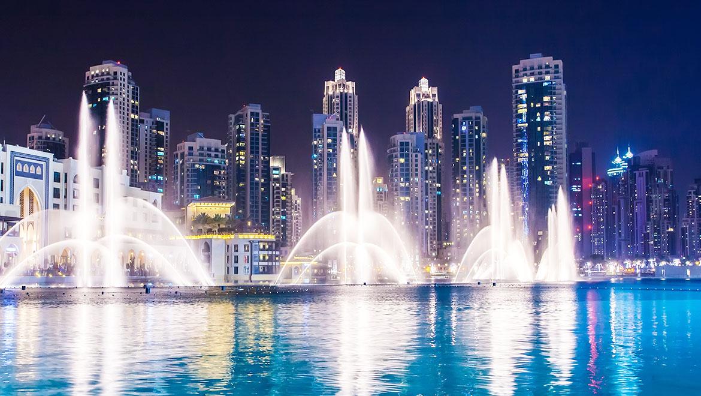 آبنمای دبی ؛ رقص آب در برج خلیفه