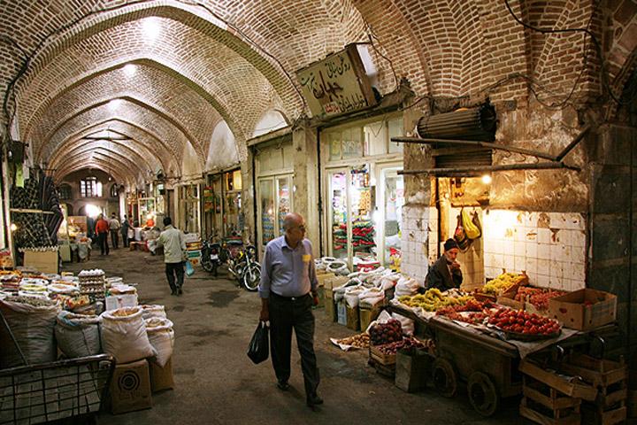 خرید نوقا   بازار سنتی تبریز