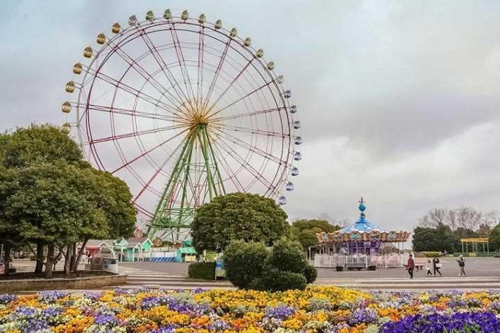چرخ فلک پارک هیتاچی ژاپن