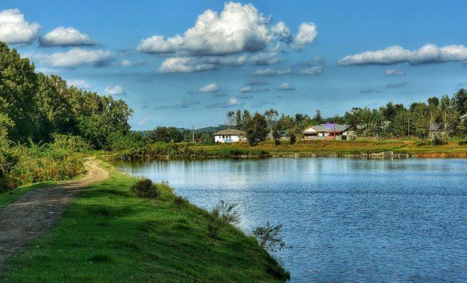 طبیعت بکر و دریاچه سیاهکل