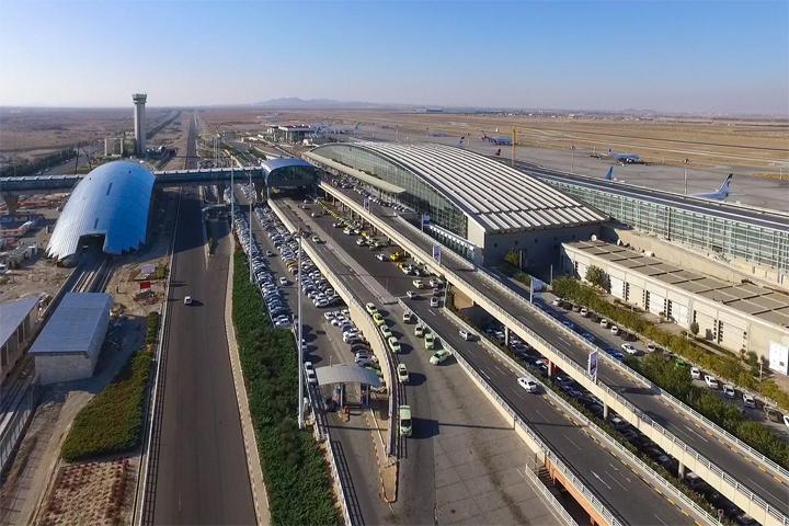 مسیر دسترسی به فرودگاه امام خمینی