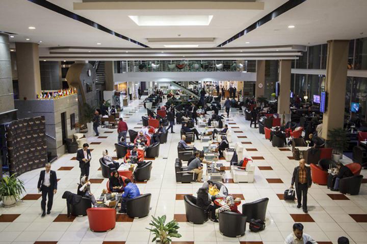 سالنهای استراحت برای مسافران