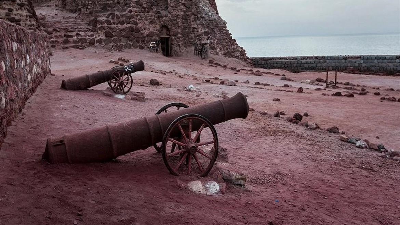 قلعه پرتغالی ها ، یادگاری به جا مانده از دوران استعمار