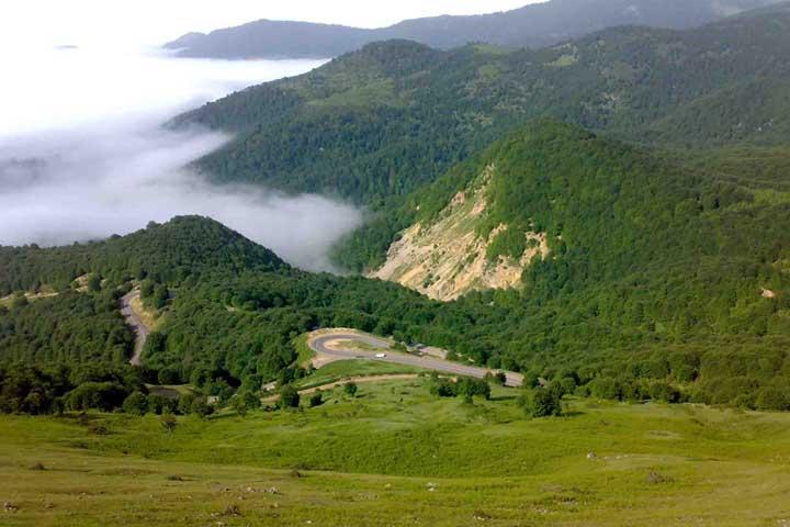 منطقه شکار ممنوع دیلمان و قله درفک