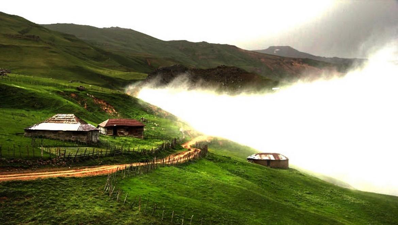 منطقه ییلاقی دوخاله کوه تالش ، تکهای بر جای مانده از سادگی زندگی روستایی