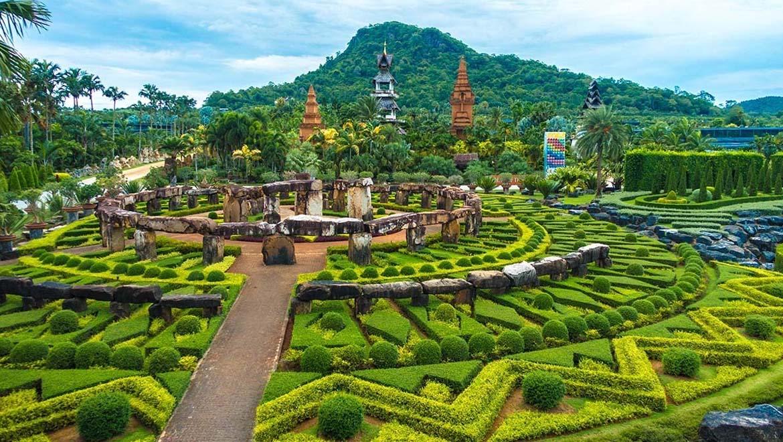 باغ گیاهشناسی نونگنوچ پاتایا ؛ دورهمی باشکوه گلها و گیاهان