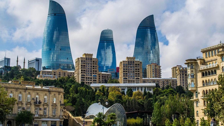 برج های شعله باکو ؛ آتش در قلب آذربایجان