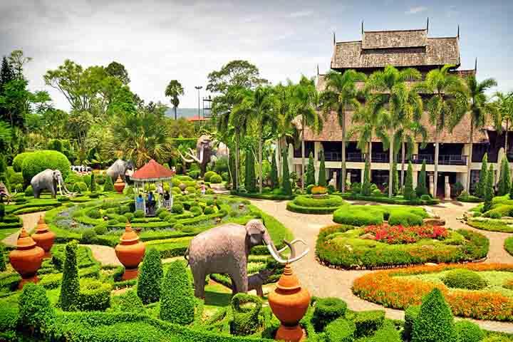 باغ گیاهشناسی نونگنوچ پاتایا