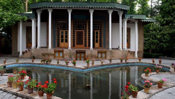 کاور باغ موزه هنر ایرانی