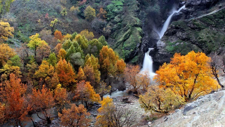 آبشار شلماش ؛ خروشان در دل جنگلهای سردشت