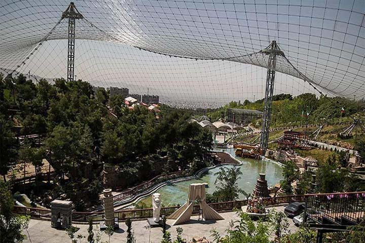 باغ پرندگان تهران   از دیدنی های تهران