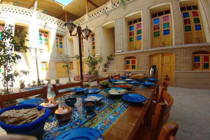 رستوران سرای همایونی شیراز