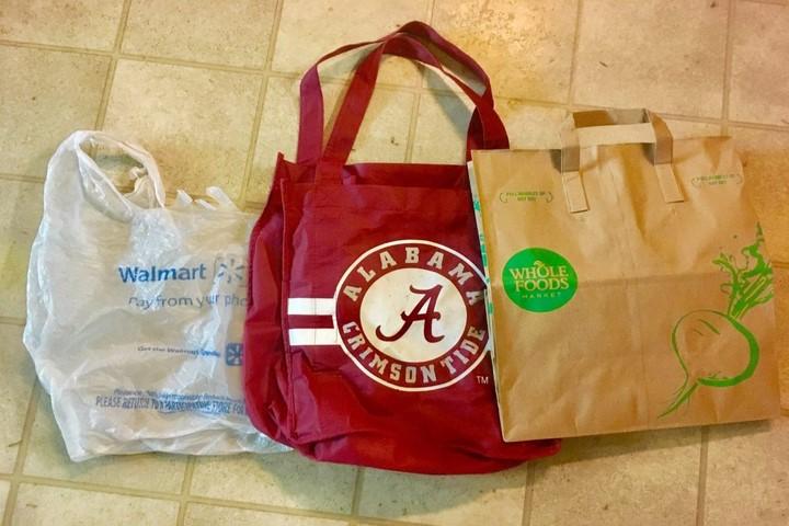 کاهش مصرف پلاستیک