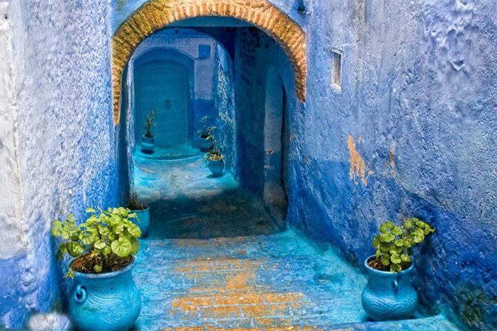 شهر آبی مراکش