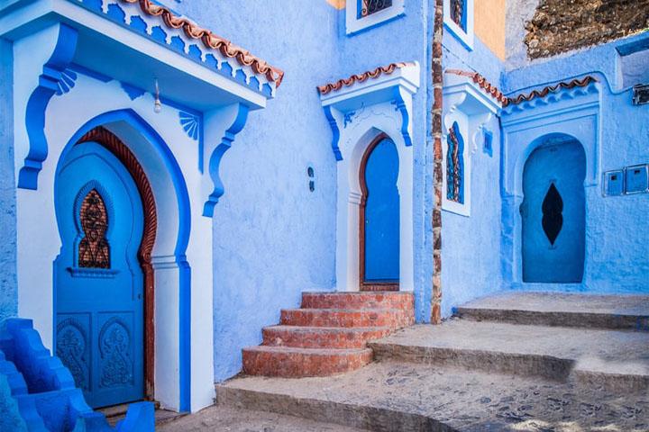 عکاسی در شهر آبی مراکش