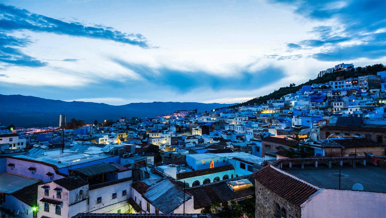شهر آبی مراکش ، بهشتی آرام در کشور رنگهای آفریقا