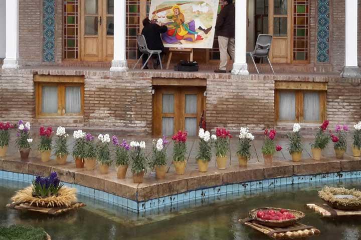 کارگاههای هنری در باغ موزه