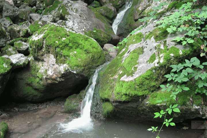 آبشارهای پشمکی