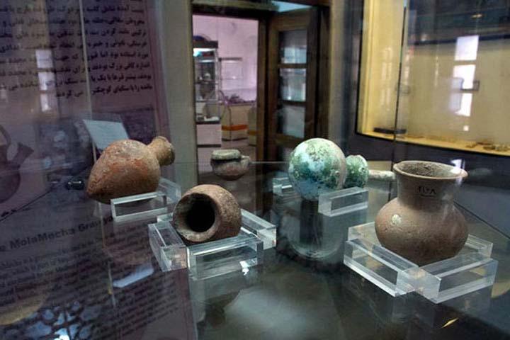 بخش غنی آثار تاریخی