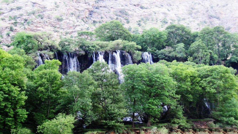 آبشار زرد لیمه ؛ بهشت گمشده ایران