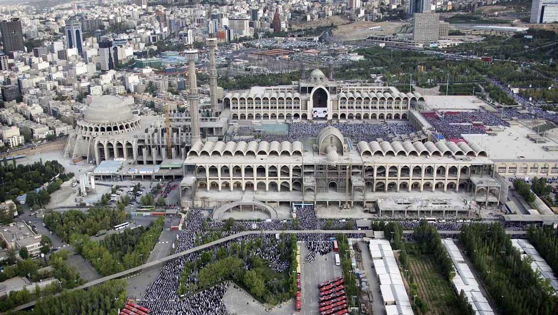 مسجد مصلی تهران ، عظیمترین مجموعهی مذهبی و فرهنگی پایتخت