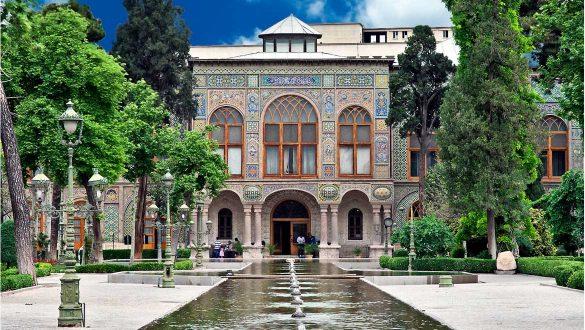 کاور کاخ گلستان