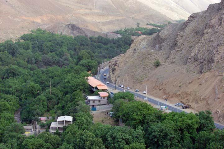 جاده امامزاده داوود