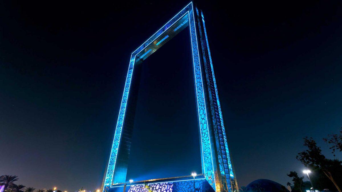 دبی فریم ، تماشای قاب عکسی از هنر، تکنولوژی، پیشرفت و مهارت
