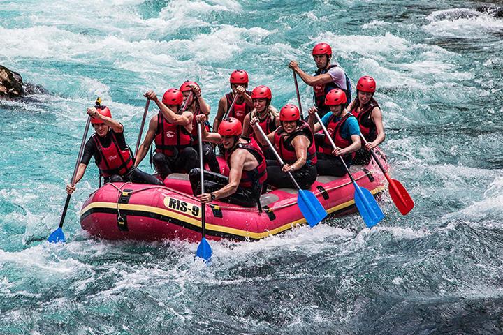 توصیه های ایمنی | رفتینگ رودخانه ارمند