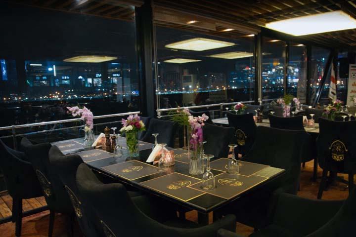 رستوران کشتی رویال لانژ | رستورانهای بام لند