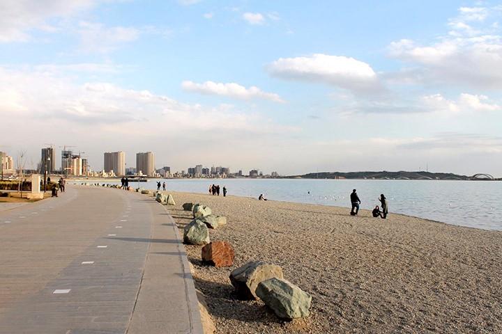 ساحل سنگی بام لند