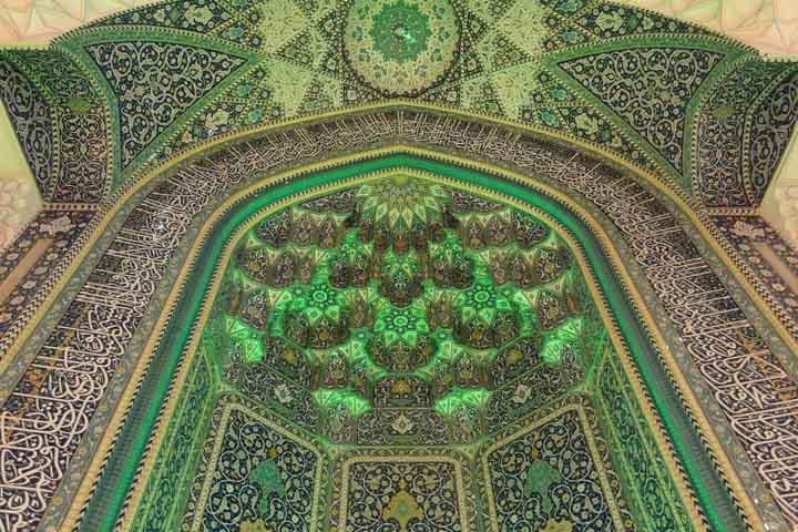 محراب مسجد مصلی تهران