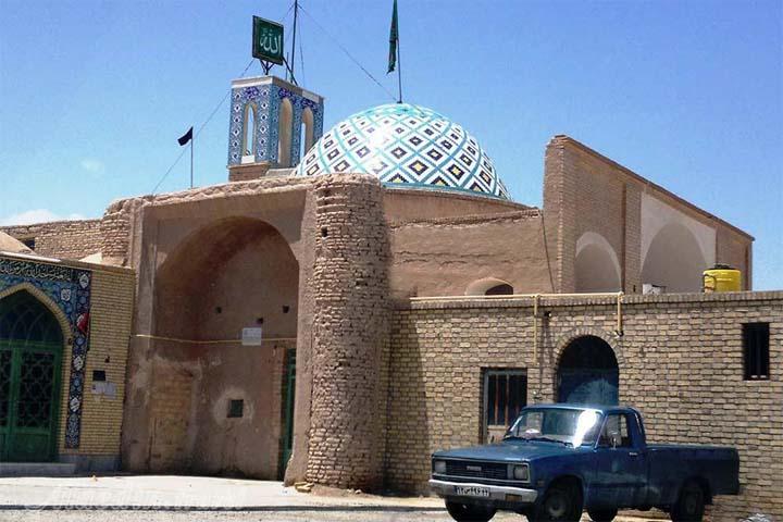 مسجد جامع خورمیز | جاهای دیدنی مهریز