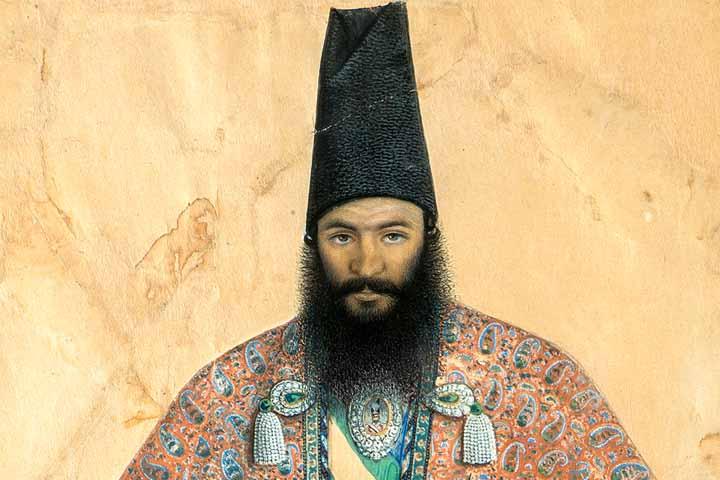 نقاشی امیرکبیر تالار قاجار