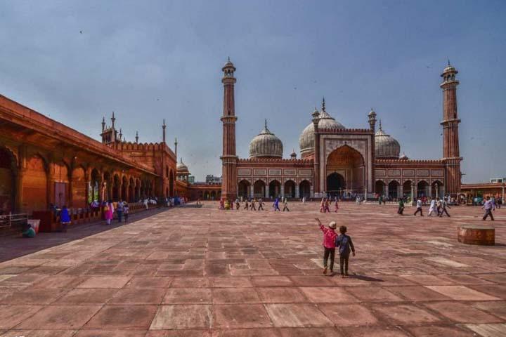 مسجد جامع دهلی نو