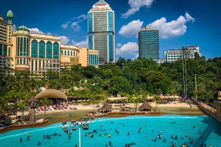 سان وی لاگون مالزی