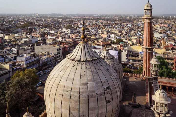 گنبد مسجد جامع دهلی